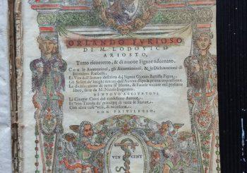 Alla Biblioteca Civica in corso la catalogazione digitale delle Cinquecentine